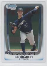(15) 2011 11 Bowman All Chrome Draft Jed Bradley  Rookie Card Lot Brewers