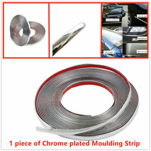 Chrome plated Moulding Strip,High quality Soft PVC + 3M Adhesive Tape