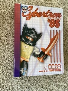 KRE-O Transformers Cybertron Kreon Class of '85 Yearbook 2015 SDCC Kreo 1985 NEW