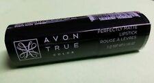 new Avon True Color Perfectly Matte Lipstick - Superb Wine