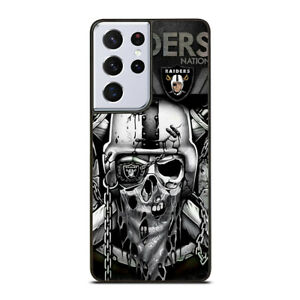 OAKLAND RAIDERS NATION Samsung S 8/+ 9/+10/+20/+ 21/+Ultra Phone Cover