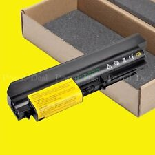"""Laptop Battery For Lenovo ThinkPad R61 T61P 42T5265 42T5262 14.1"""" widescreen"""