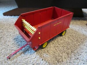 Ford New Holland Farm Toy Spearry Rand Silage Wagon Used Original Repaint ?