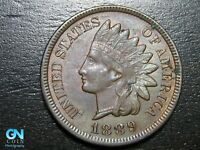 1889 Indian Head Cent Penny  --  MAKE US AN OFFER!  #B5691