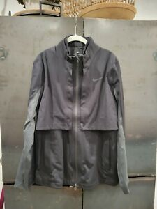 Men's Nike Golf Rapid Adapt Jacket Hypershield Black Gray Large