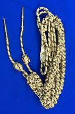 Army Officer Shoulder Aiguillette Gold And Mahroon Wire/ Aiguillette Wire Cord