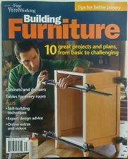 Fine Woodworking Building Furniture Spring 2017 Great Projects FREE SHIPPING sb