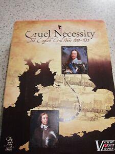 Victory Point Board game Cruel Necessity - The English Civil Wars, 1640-1653