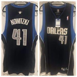 Dirk Nowitzki Signed Mavs Authentic Jersey (PSA)