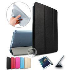 Slim Cover Case Schutzhülle für iPad Mini 4 PU Ledertasche mit TPU Back Schwarz