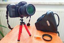 Sony Alpha A200 l Objektiv u XLL Extras wie NEU l DSLR Spiegelreflex Kamera 10MP