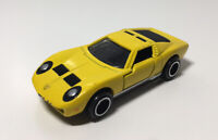 Takara Tomy Tomica Lamborghini Miura SV 1977 Diecast Car Model Yellow *READ*