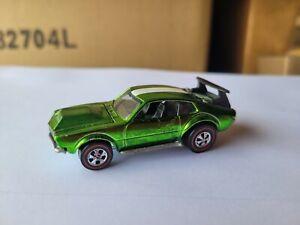 Hot Wheels 1969 REDLINES - MIGHTY MAVERICK [SPECTRFLAME GREEN] NEAR MINT LOOSE
