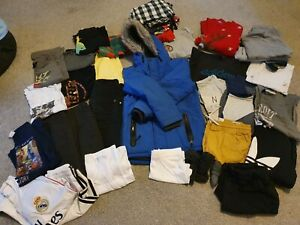 Huge Boys clothes 9-10-11 years bundle Adidas Next Fat Face 35 Items Huge Lot