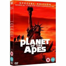 Planet of The Apes Collection 5039036040020 With Charlton Heston DVD Region 2