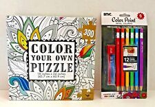 Color Your Own Puzzle with Mechanical Coloring Pencils