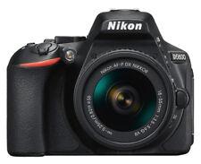 Nikon D5600 24.2 MP Digital SLR Camera - Black (Kit with 18-55mm f/3.5-5.6G VR Lens)
