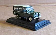 OXFORD DIECAST LAND ROVER SERIES II STATION WAGON BRONZE GREEN 1:76 SCALE MODEL