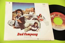 "BAD COMPANY 7"" ROCK 'N' ROLL FANTASY - CRAZY CIRCLES  - ORIG 1979 NM"