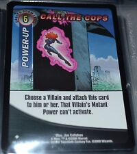 Call The Cops # 49/131 X-Men Trading Playing Cards Games TCG Xmen Uncommon MINT