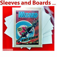 Wizard Comic New Comic Bags and Boards A4+ Acid Free Reseal/Tape Seal Size4 x 10