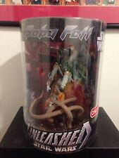 """STAR WARS UNLEASHED 12"""" BOBA FETT SARLACC TARGET EXCLUSIVE SCULPTURE MIMB SEALED"""