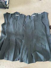 4 x grey M&S school dresses age 7-8