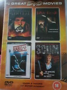 Witchfinder General  - Rabid - Scum - Confessions Of A Serial Killer DVDs