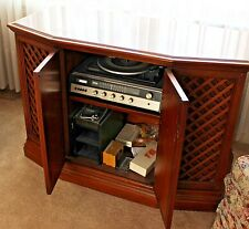 """Mid Century  The Fisher Stereo Beacon  Console Cassette Recorder  BEAUTIFUL 44"""""""