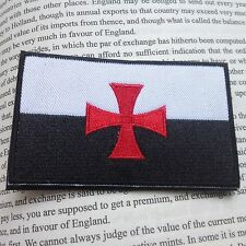 CROSS TEMPLAR CRUSADERS KNIGHTS CHRISTIAN ARMY INSIGNIA EMBROIDERED PATCH