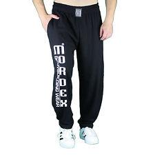 schwarze MORDEX G Bodybuildinghose Fitnesshose Gymhose Sporthose Freizeithose