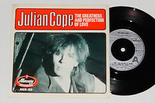 "JULIAN COPE -The Greatness And Perfection Of Love / 24a Velocity Crescent- 7"" 45"