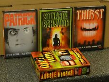 The Aussie Horror Collection 3 DVDS Thirst Patrick Strange Behavior, BRAND NEW!