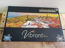 Mega Puzzles 750 Piece Jigsaw Puzzle Vibrant Panoramic 11x 36
