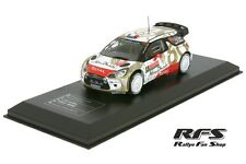 CITROEN ds3 wrc-Loeb/ELENA-rallye monte carlo 2015 - 1:43 IXO dc15-mc-004