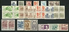 Mexico: Small lot of diff. stamps in block of 4, pair and single mint Nh,...ME44