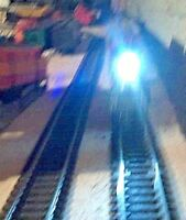 TWO CONSTANT BRIGHTNESS SUPER BRIGHT LED LOCO HEADLIGHTS WITH THIS SIMPLE KIT