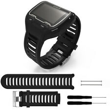 Silicone Wrist Band Strap Bracelet w/ Tool for Garmin Forerunner 910XT GPS Watch