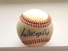 Sal Maglie Signed Autographed Feeney Baseball JSA LETTER