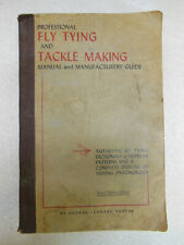 old Fly Tying & Tackle Making Manual by George He 000006E9 rter 1949 Fishing Fun