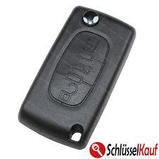 Peugeot 3 Tasten Fernbedienung Klappschlüssel Auto 107 207 307 308 407 607 Neu