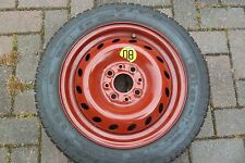 Fiat Seicento or Cinquecento Standard Space Saver Wheel and Tyre