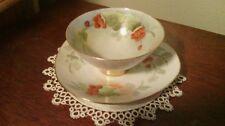 Vintage , handpainted teacup/soup cup & saucer