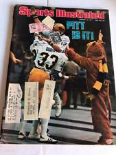 Sports Illustrated Magazine - January 10, 1977 - Pittsburgh Steelers
