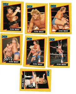 1991 WCW World Championship Wrestling Impel Trading Card Flyin Brian Pillman RC