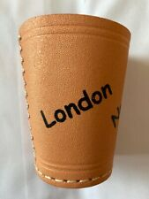 Leather Dice Cup,Personalised,Yahtzee Games, Poker Games, (Free Postage)