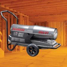 Forced Air Kerosene Diesel Fuel Oil Gas Space Heater Torpedo Portable Industrial