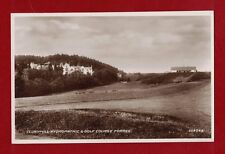 GB Clunyhill Hydropathic & Golf Course Forres heritage postcard