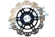 Para Ducati 750 Monster ( Tw 96>98 EBC VR Disco de Freno Negro Cubo Central
