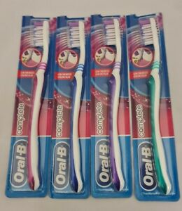 Oral B complete Sensitive Toothbrush Soft x 4 brushes